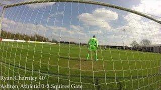 GOAL CAM: Ashton Athletic 0-2 Squires Gate