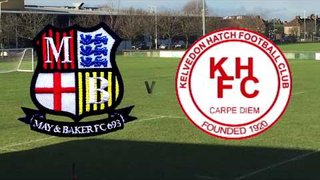 May and Baker FC Vs Kelvedon Hatch - FULL HIGHLIGHTS 28/04/2018