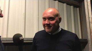 POST MATCH INTERVIEW - Oxford City 5-0 Hemel Hempstead