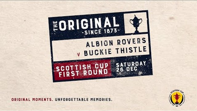 Albion Rovers 0-3 Buckie Thistle | Scottish Cup 2020-21 – First Round