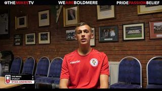 The Mikes TV | The Mikes 3-0 Studley | Ryan Andrews | Post Match Interview