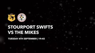 The Mikes TV | Stourport Swifts 1-1 The Mikes | Match Highlights