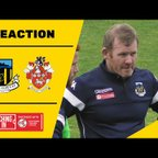 REACTION | Mulhern feels 'two points dropped' in Liversedge draw