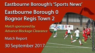 'Sports News': Eastbourne Borough 0 v 2 Bognor Regis Town