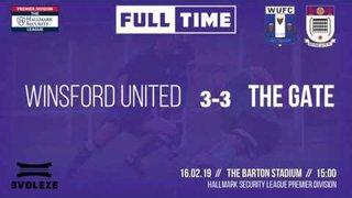 GOALS: Winsford United 3-3 Squires Gate