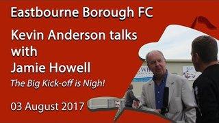 Jamie Howell Talks About the Big Kick-off!
