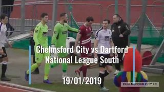 LAST TIME OUT: Chelmsford City 2-1 Dartford - 19/01/2019
