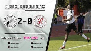 HIGHLIGHTS: Gateshead 2-0 Brackley Town (31/08/19)