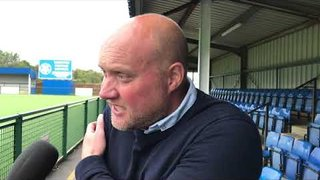 POST MATCH INTERVIEW - Oxford City 2-0 Hampton & Richmond Borough
