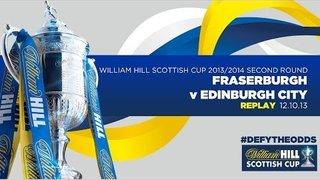 REPLAY: Fraserburgh 2-0 Edinburgh City // William Hill Scottish Cup 2013/2014 2nd Round