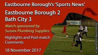 'Sports News': Eastbourne 2 v 3 Bath – Highlights