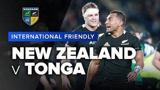New Zealand v Tonga   International Test Highlights