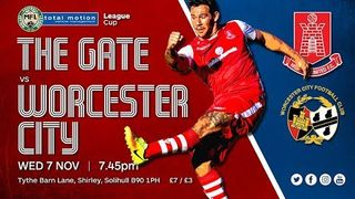 Highgate United 1-4 Worcester City (MFL League Cup)