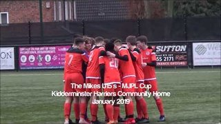 Boldmere St Michael's U15's MJPL  Cup V's Kidderminster Harriers Community Home