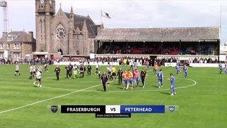 Fraserburgh vs Peterhead | Highlights | Ryan Christie Testimonial | 6 July 2019