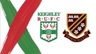 Heath RUFC v Keighley RUFC - Highlights