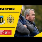 REACTION | Bolam on 'embarrassing' Brighouse performance