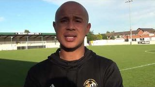Ashley Vincent Interview post Highgate Match #FAVase