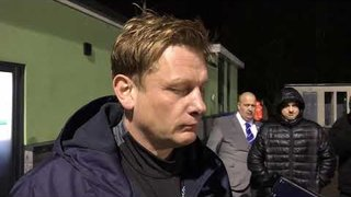 POST MATCH INTERVIEW - Oxford City 0-2 Tranmere Rovers - Justin Merritt's Thoughts