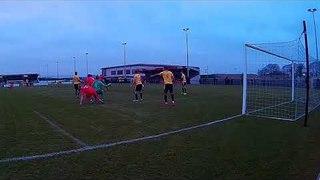 Liam Adams scores for Stamford