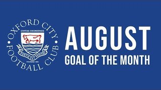 August Goal of the Month