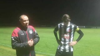 POST MATCH INTERVIEW with skip Ben Sturgess v Winchester City FA Trophy