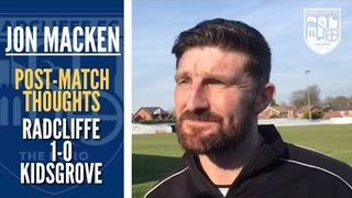 """Jon Macken: """"It was a scrappy and battling game"""" 