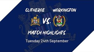 Clitheroe vs. Workington A.F.C. match highlights