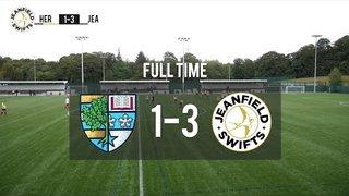 Heriot-Watt University F.C. Vs. Jeanfield Swifts F.C. 1-3 | Alex Jack Cup Highlights