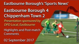 Eastbourne Borough 4 v 2 Chippenham Town