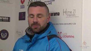 Boardman & Herring Interview | Crusaders Live | Hungerford Town vs Billericay Town | 25.11.2017
