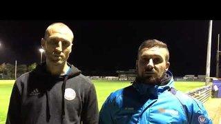 Boardman & Herring reflect on defeat to Bath City