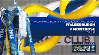 Fraserburgh v Montrose // William Hill Scottish Cup 2013/2014 3rd Round
