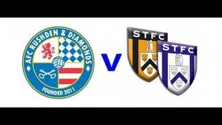Highlights of AFC Rushden & Diamonds v Stratford Town