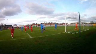 Stamford's 3 goals in the draw v Pickering 23 03 19