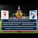 Glossop North End v Chesterfield FC 06/11/19