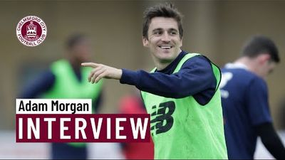 Adam Morgan on agreeing terms for next season