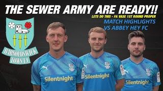 Match Highlights: Town vs Abbey Hey FC - FA Vase(12.10.19)