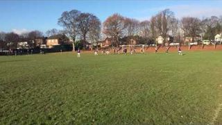 Jack free kick and Oli B Shot v Alverthorpe