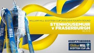 Stenhousemuir v Fraserburgh // William Hill Scottish Cup 2013/14
