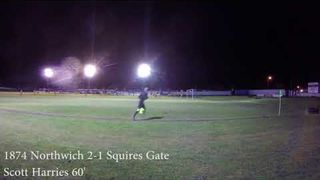 GOAL CAM: 1874 Northwich 3-1 Squires Gate