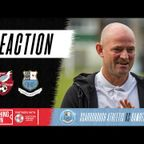 Post-match reaction with Jamie Milligan & Dylan Boyle   Scarborough Athletic (A)
