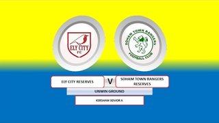 Ely City Res vs Soham Town Rangers Res - Kershaw Senior A