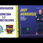 Post Match Reaction | Andy Monkhouse delighted with his side after 3-2 win.