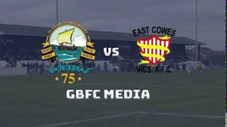 HAMPSHIRE SENIOR CUP| GOSPORT 6 - 2 East Cowes Vics: MATCH HIGHLIGHTS