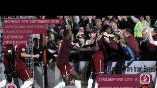 Highlights - Chelmsford City vs Ebbsfleet United