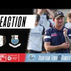 Post-match reaction with Jamie Milligan & Isaac Sinclair | Grantham Town (A)