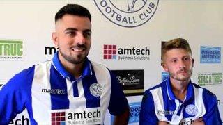 Thatcham Town FC vs Andover New Street FC | Felipe Barcelos and Joe Selman Interview