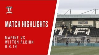 MATCH HIGHLIGHTS | Marine 1-1 Witton Albion (pre-season friendly)