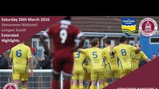 Concord Rangers 1 vs 0 Chelmsford City - Extended Highlights
